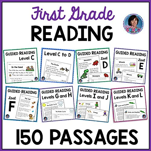 These First Grade Reading Comprehension Passages And Questions For Guided  Reading Levels C Through L Are Designed To Help Students Develop Strong  Comprehension Skills And Learn To Skillfully Answer Text-based Questions.  The Increasing Complexity