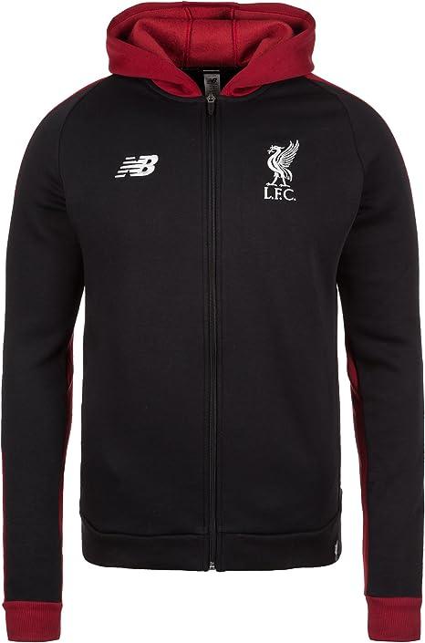 New Balance Elite Liverpool Football Club Men S Hooded Jacket Schwarz Bordeaux Xxl Amazon Co Uk Sports Outdoors