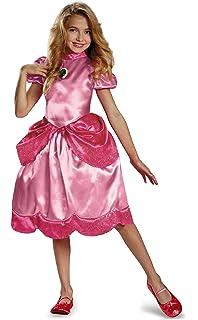 Little Princess Peach Disfraz Super Mario Brothers Princess ...