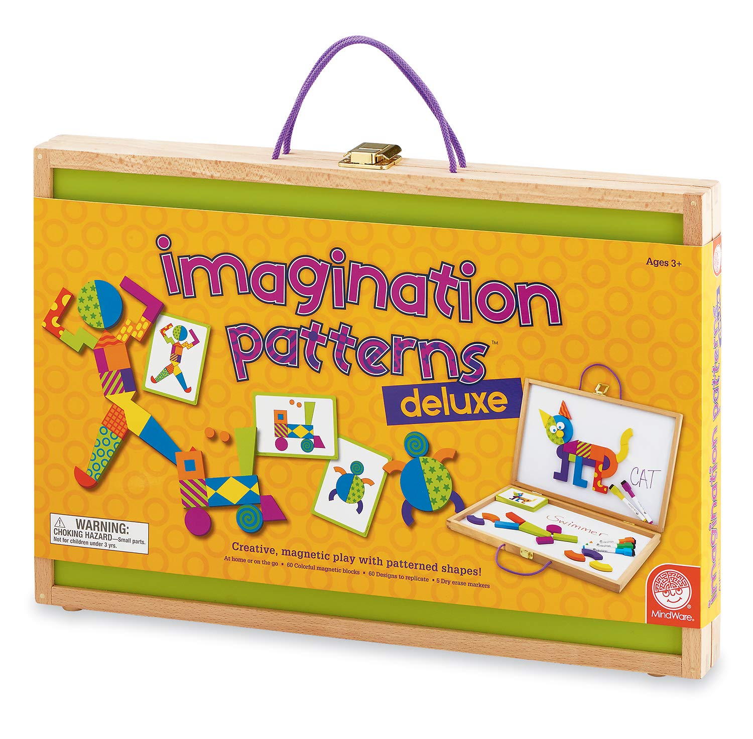 MindWare Imagination Patterns (Imagination Patterns Deluxe) by MindWare (Image #1)