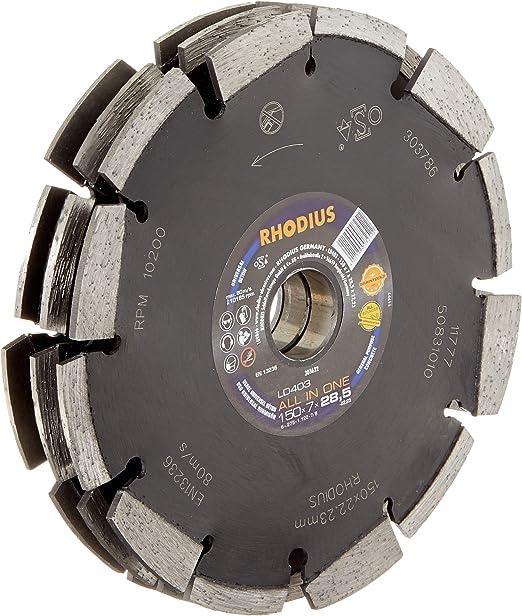 RHODIUS Diamant-Trennscheibe Braintools LD403 all in one 125x7,0x28,5x22,23
