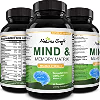 Enhance Brain Memory, Boost Focus, Improve Clarity Mind Booster Supplement for Men...