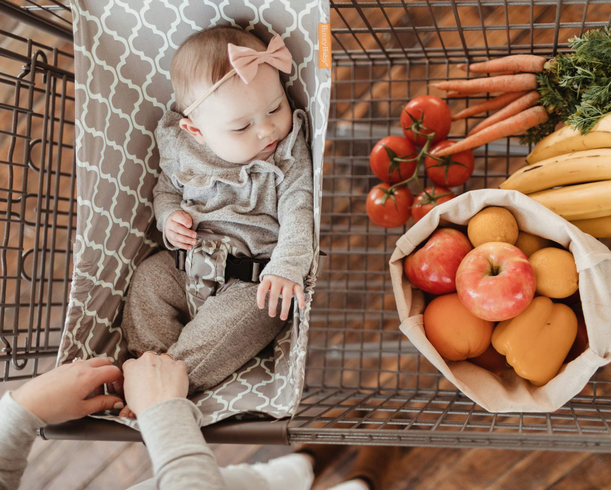 BINXY BABY Shopping Cart Hammock | The Original | Ergonomic Infant Carrier + Positioner by Binxy Baby (Image #3)