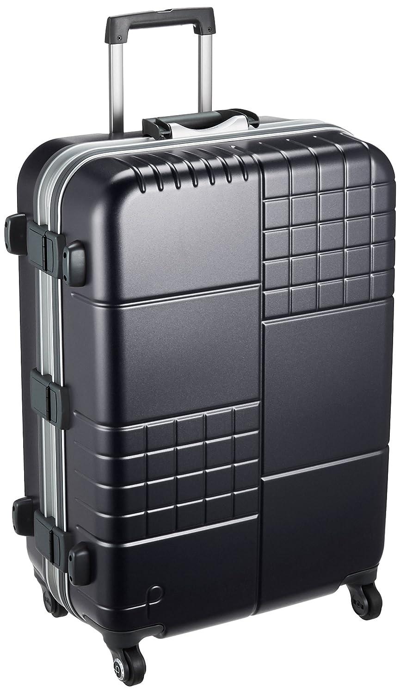 [プロテカ] スーツケース ブロックパック サイレントキャスター ハンガー付保証付 70L 63cm 4.5kg 00762 B074BZKML5 ブラック ブラック