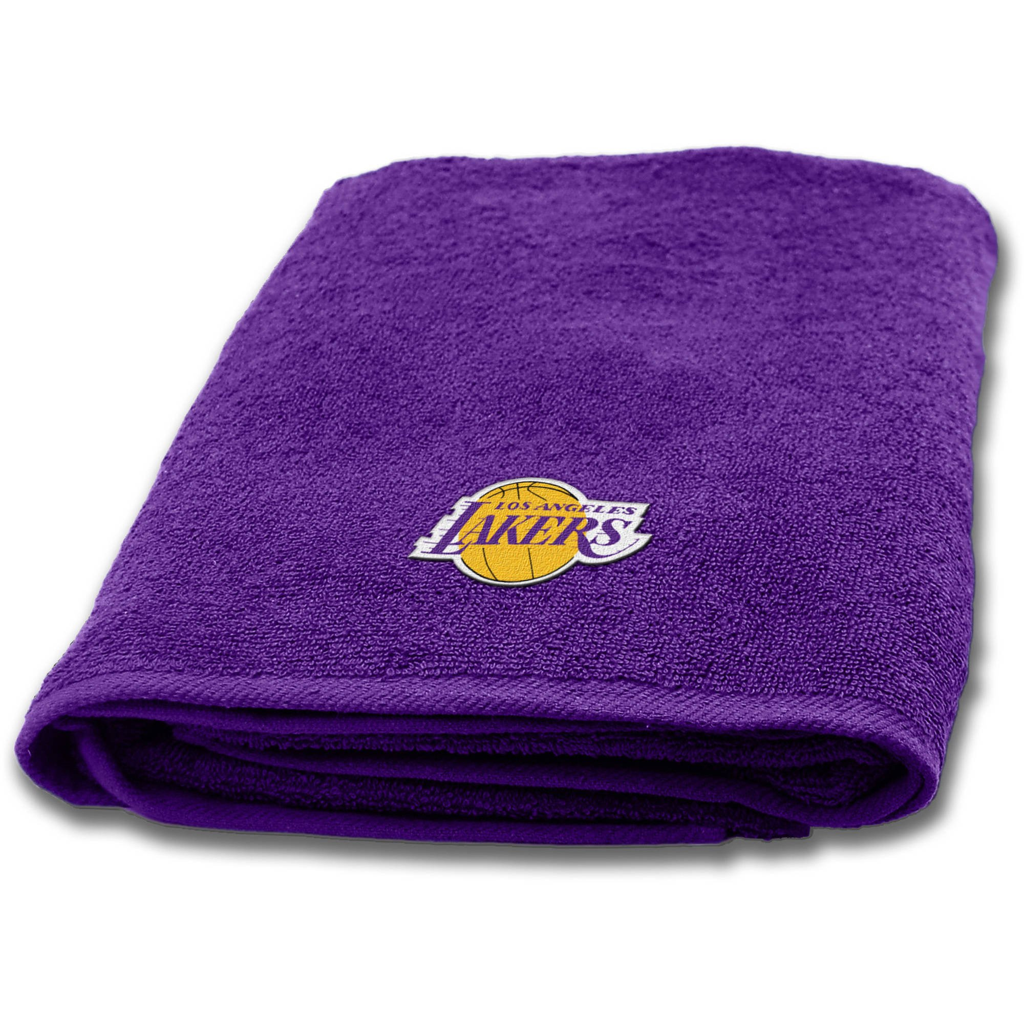 Northwest NBA Los Angeles Lakers 25''x50'' Applique Bath Towel, Set of 2#54189617