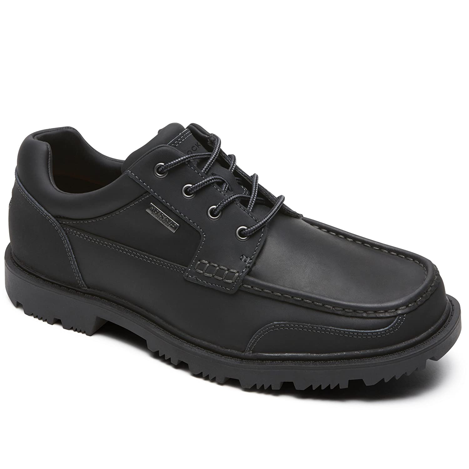Rockport Redemption Road Moc Toe, Mocasines para Hombre 49 EU|Negro (Black)