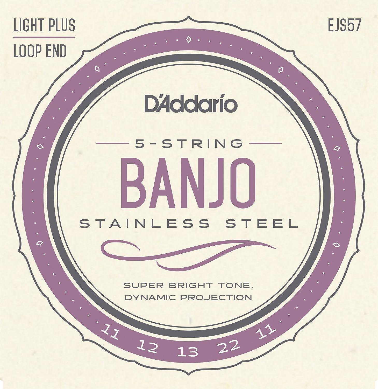 D'Addario EJ63 Nickel Tenor Banjo Strings, 9-30 D'Addario &Co. Inc