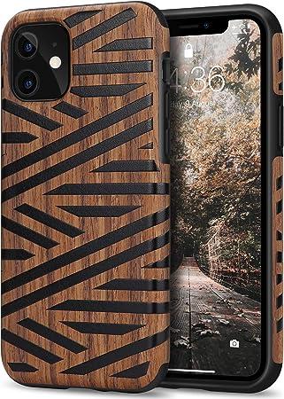 Tasikar Kompatibel Mit Iphone 11 Hülle Holz Design Elektronik