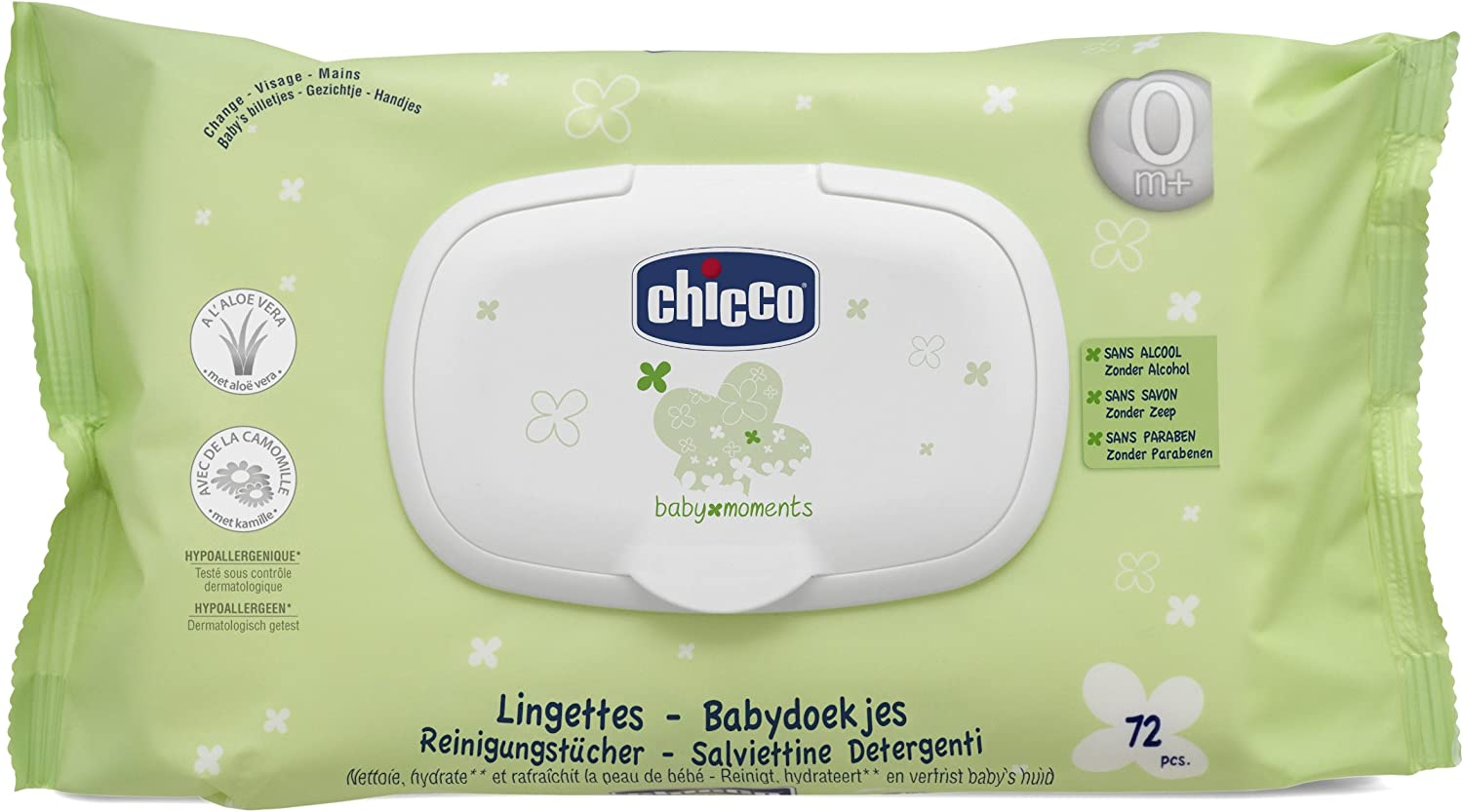 chicco Lingettes Humides