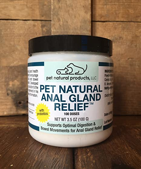 Natural anal gland cures for dogs