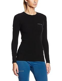 FALKE Damen Warm Longsleeved Zip-Shirt Trend Tight Fit Sportunterw/äsche