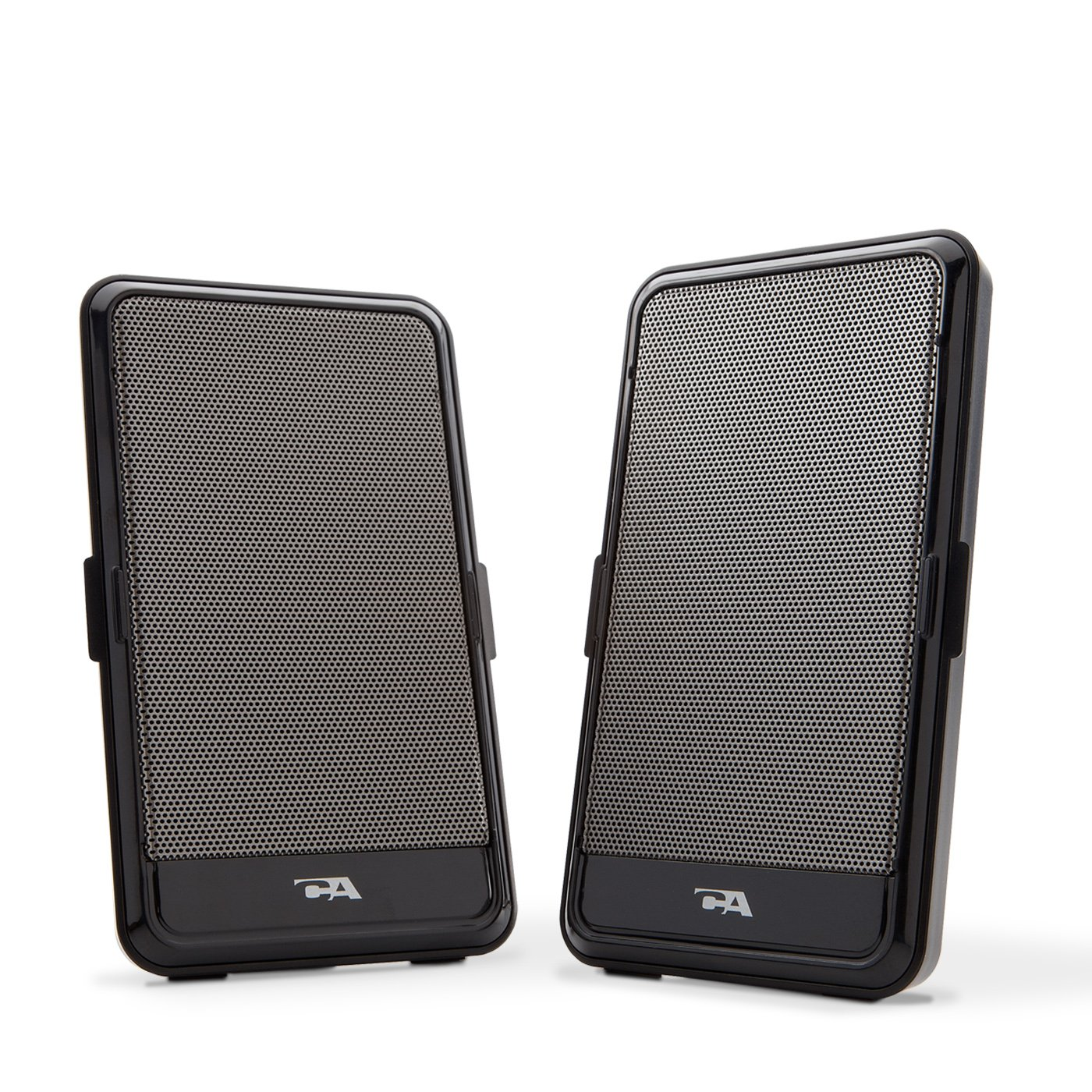 Usb Powered 2pc.Black Speaker Portable Design Cyber Acoustics CA-2988 MP3 & Media Player Accessories