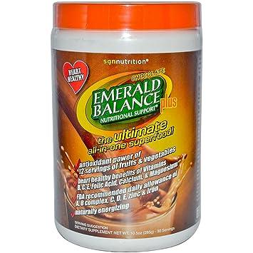 Amazon.com: SGN Nutrición Esmeralda Equilibrio Total ...