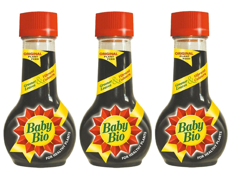 3 X Baby Bio Original House Plant Food Feed Fertilizer 175ml Bayer