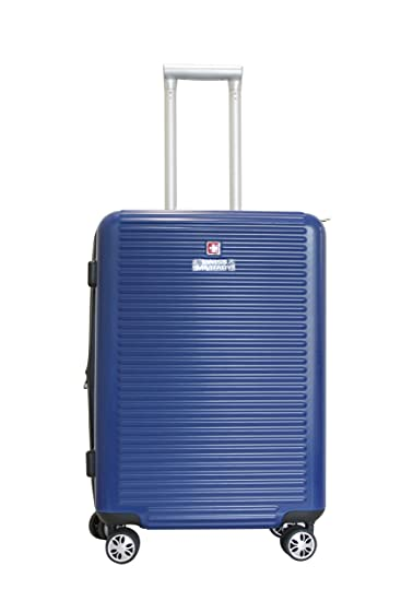 Swiss Military Unisex Blue Hard Top Luggage (HTL9)  Amazon.in  Bags ... 91ce1144eed4f
