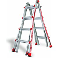 Little Giant 17-Feet Type 1 Multi-Position Ladder with Cargo Hold