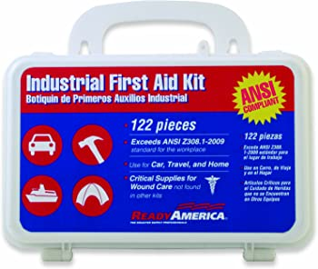 Ready America 122-Pc. First Aid Kit