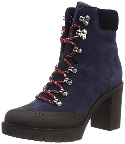 outlet store sale on wholesale picked up Tommy Hilfiger Women's Modern Hiking Heeled Boot Combat: Amazon.co ...