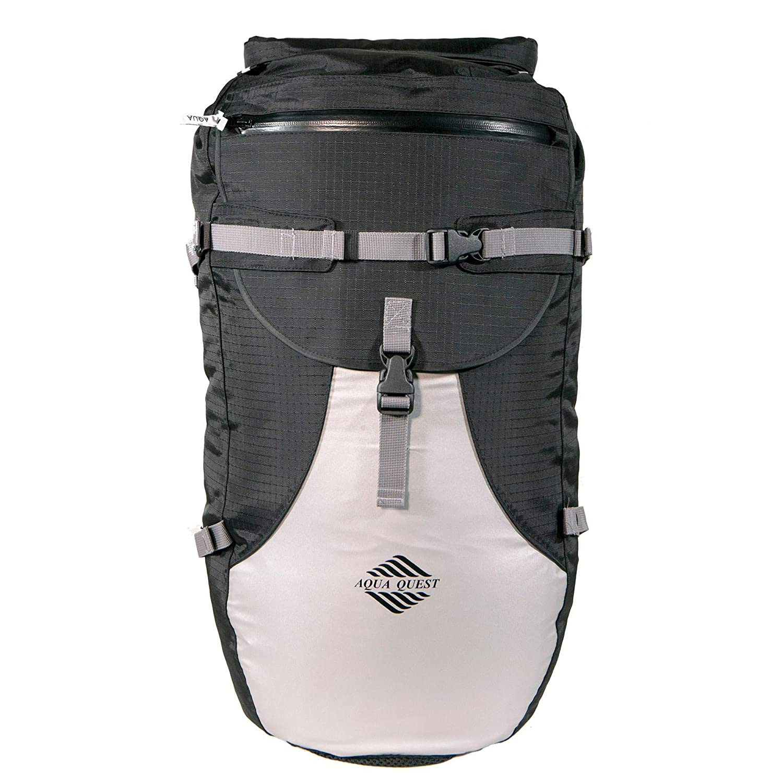 Aqua Quest STYLIN Rucksack - 100% wasserdichte Rucksack Trockentasche 30L für Laptop, Schule, Reisen, Outdoor Boot Ski Snowboard 590