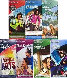 Disney Movie World Map.Amazon Com Walt Disney World Resort 4 Theme Parks Downtown Springs