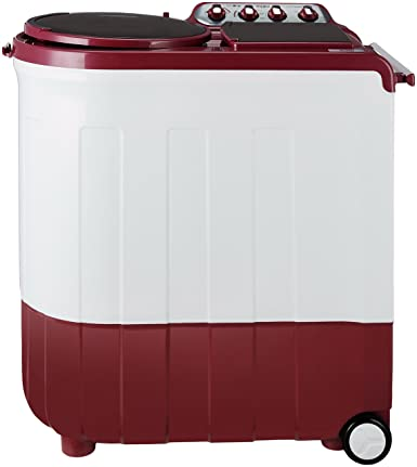 Whirlpool 8 kg Semi-Automatic Top Loading Washing Machine (Ace Stainfree 8.0, Coral Red)