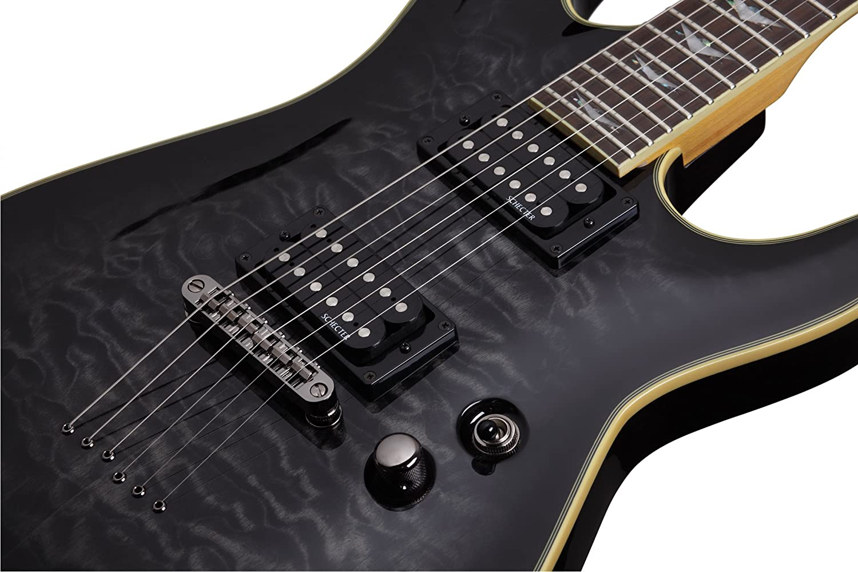 Schecter Omen extreme-6 Guitarra Eléctrica (Black Cherry): Amazon.es: Instrumentos musicales