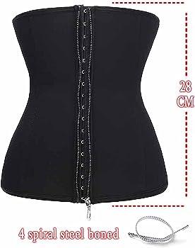 6652848c5a Waist Trainer Cincher Long Torso Shaper Zipper Plus Size Corset For Weight  Loss