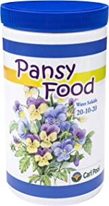 Pansy Food - Water Soluble 24oz 20-10-20 - Carl Pool Fertilizers