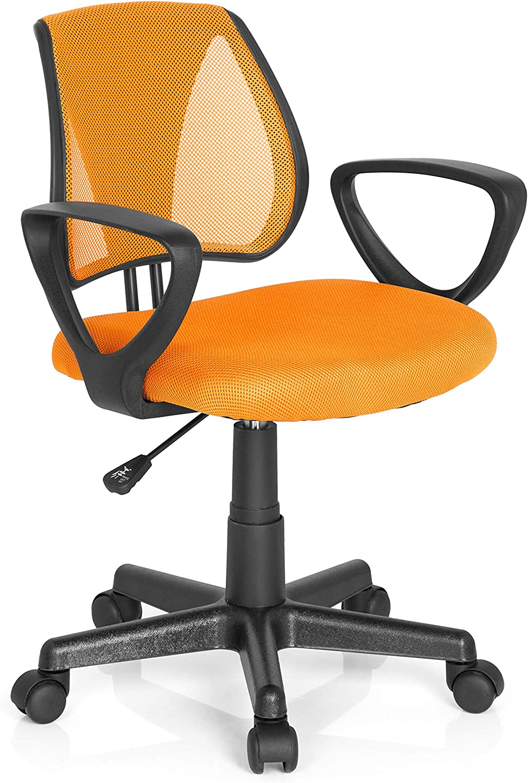 Hjh Office Kiddy Cd Silla de oficina infantil Naranja (Orange) 40x53x92 cm