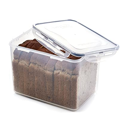 Charmant LOCK U0026 LOCK Airtight Rectangular Tall Food Storage Container 131.87 Oz /  16.48 Cup