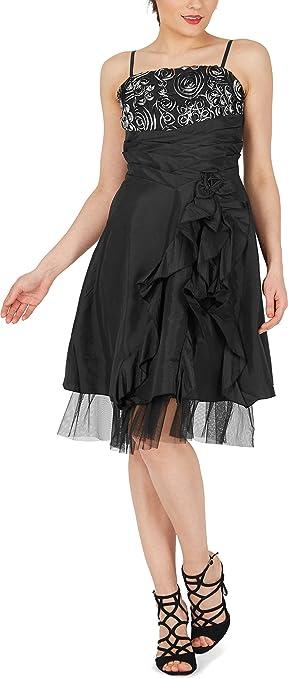 BlackButterfly April Vestido Cascada De Satén Bliss: Amazon.es: Ropa y accesorios