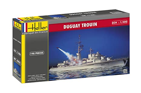 Amazon.com: Heller 81032 Model Kit Fregatte Duguay Trouin ...
