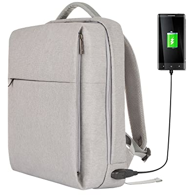 OSOCE Laptop Backpack Slim Business Backpack with USB Charging Port Men  Women Water-Resistant Computer a2c2db410d6a8