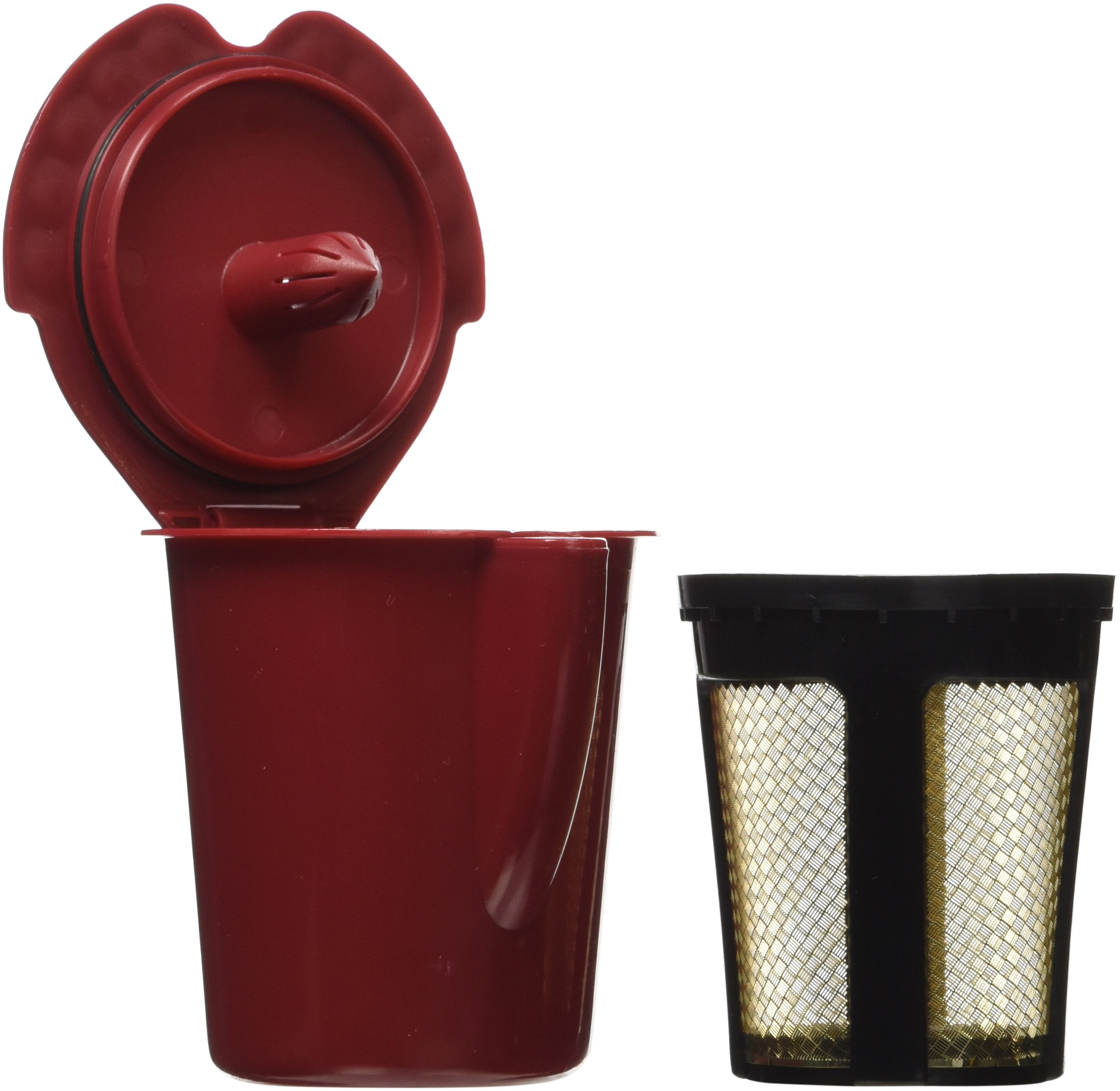 Solofill V1 GOLD CUP 24K Plated Refillable Filter Cup for Coffee Pod