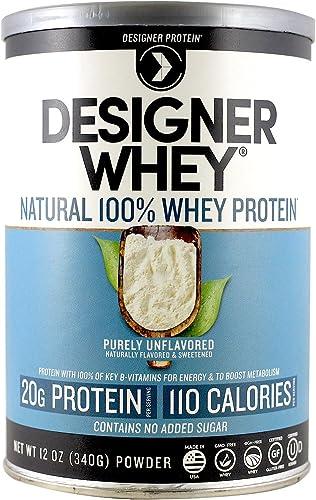 Designer Protein 100 Premium Whey Protein Powder