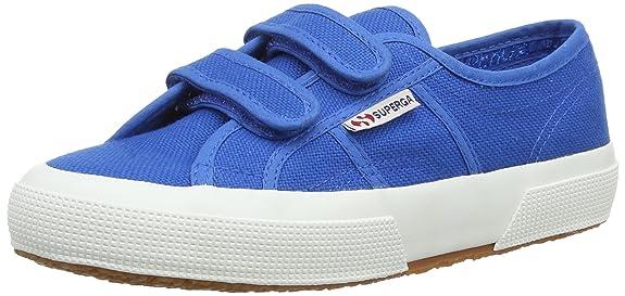 Tg. 34 Superga Jvel Classic Sneaker Bambino Blu Blau Sea Blue 34