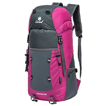 0dc957edd9 Coreal 35L Lightweight Foldable Travel Hiking Backpack Roses  Amazon.ca   Sports   Outdoors