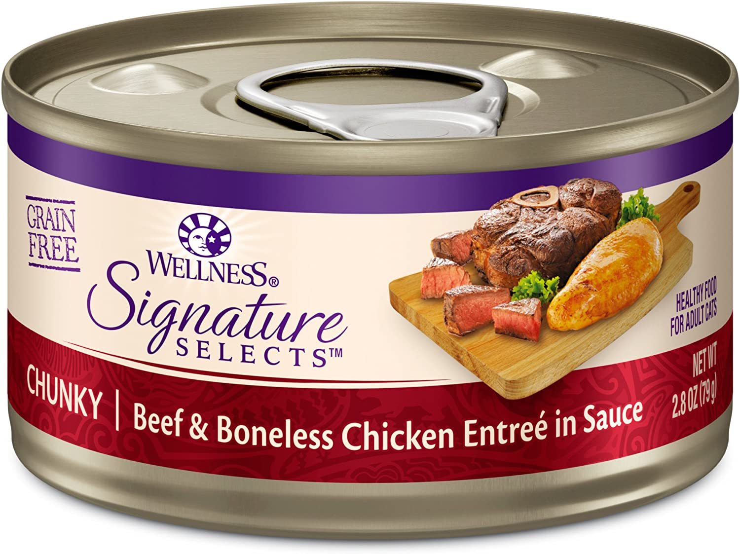 Wellness CORE Signature Selects Chunky Wet Cat Food (Pack of 12)