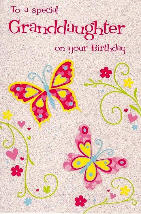Amazon.com: Tarjeta cámara tarjeta de cumpleaños para nieta ...