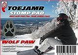 ToeJamR Snowboard Stomp Pad - Wolf Paw - Gray