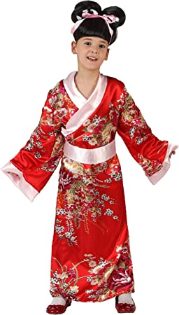 Atosa - Disfraz de chino para niña, talla 7-9 años: Amazon.es ...