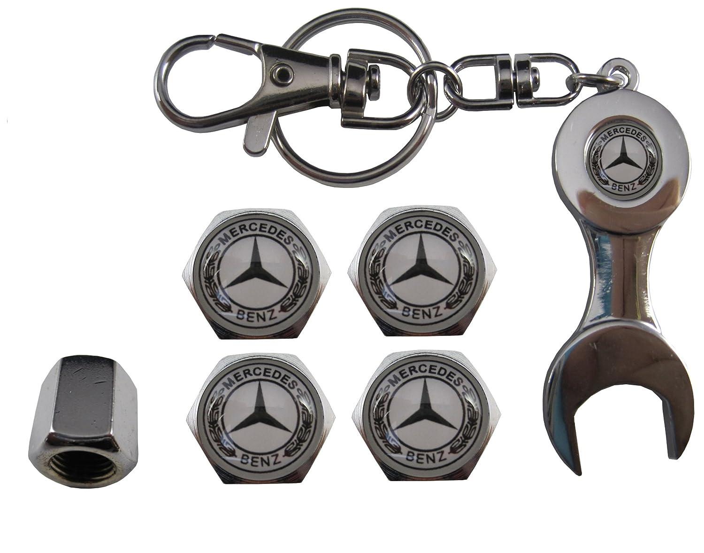 VALVULAS KFZ-Edelstahl Schl/üsselanh/änger Mercedes aut011/ /24
