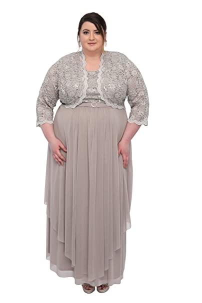 R&M Richards Women\'s Plus Size Formal Jacket Dress - Mother of The Bride  Dress