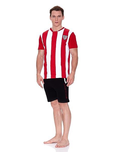 Licencias Pijama Athletic Bilbao Blanco/Rojo/Negro S