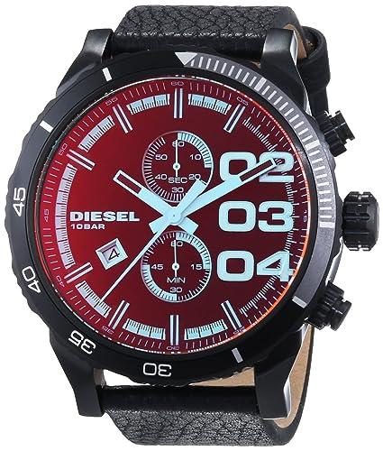 Amazon.com: Diesel Mens DZ4311 Double Down Series Analog Display Quartz Black Watch: Diesel: Watches