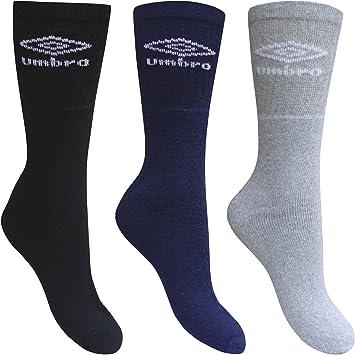 Calcetines de deporte de entrenamiento para hombre Umbro (lote de 3) de zapato de 6-11: Amazon.es: Deportes y aire libre