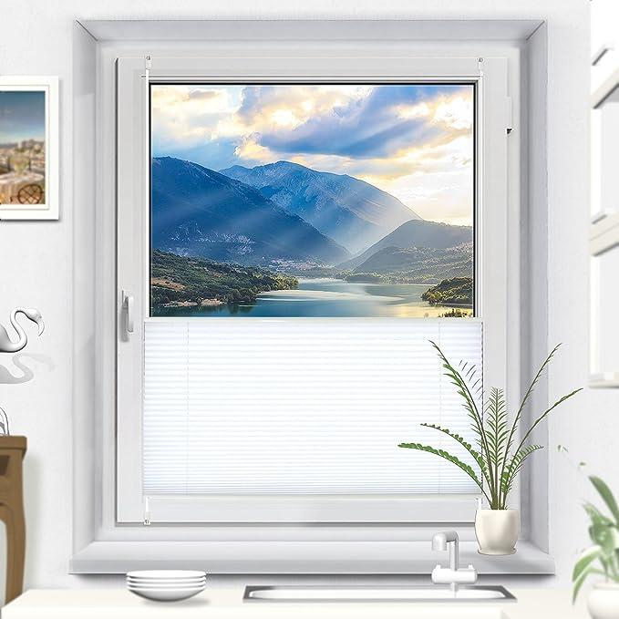 klemmfix rollo 70 cm breit perfect doppelrollo klemmfix ohne bohren cm x cm duo beige rollo. Black Bedroom Furniture Sets. Home Design Ideas