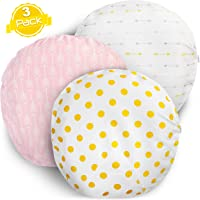 "Newborn Lounger Pillow Cover for Baby Boys & Girls |""Gold Dots"" Collection"