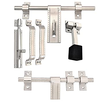 Buy Klaxon A-one Steel Door Accessories Kit (Matte Finish 6-Pieces) Online at Low Prices in India - Amazon.in  sc 1 st  Amazon.in & Buy Klaxon A-one Steel Door Accessories Kit (Matte Finish 6-Pieces ...