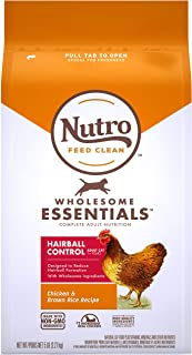 product image for Nutro Wholesome Essentials Hairball Control Adult Dry Cat Food, Chicken